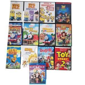 13 DVD Bundle Movies Kids